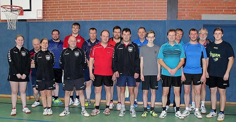 Vereinsmeisterschaft der Tischtennisabteilung